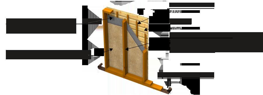 maison panneau bois le cube est constitu de panneaux de bois la mthode de fabrication des. Black Bedroom Furniture Sets. Home Design Ideas